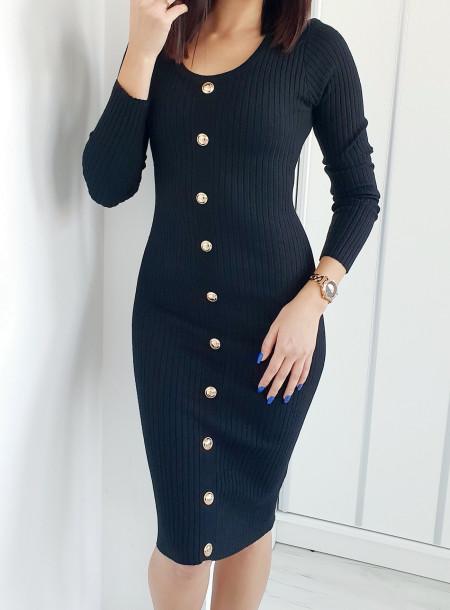 Sukienka 90289 czarny