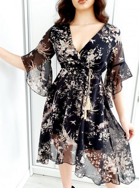 Sukienka 3015A czarny