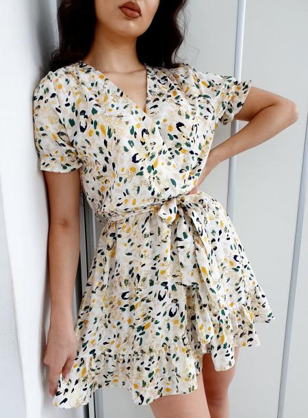 Sukienka 5834 biały