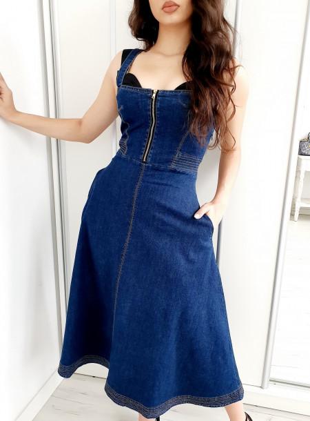 Sukienka jeans B197