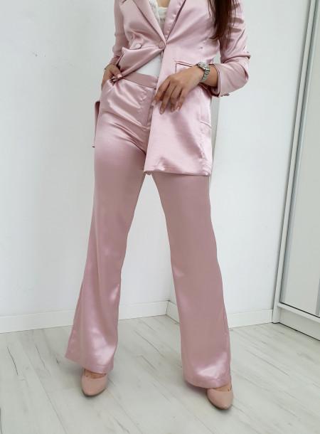 Spodnie satyna 7198 puder