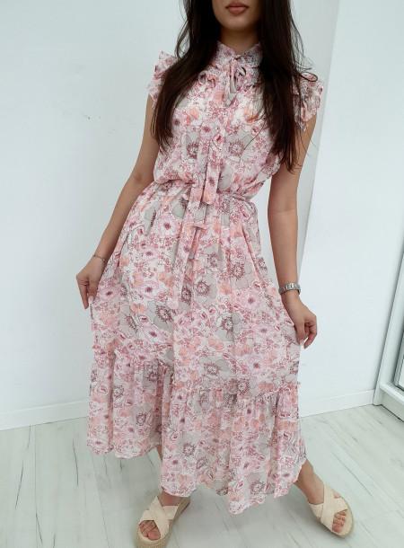 Sukienka FF71 róż