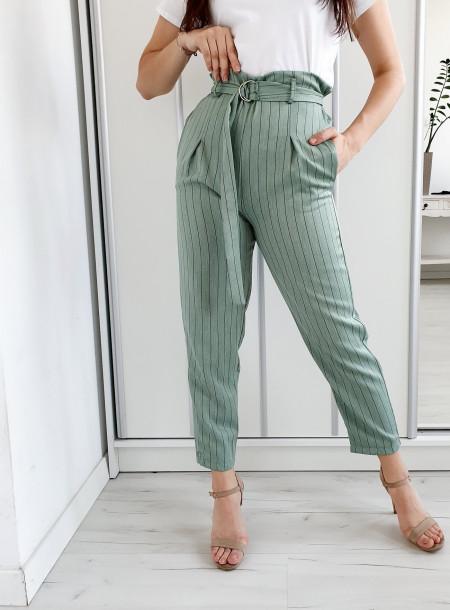Spodnie 20540 zielony
