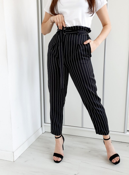 Spodnie 20540 czarny