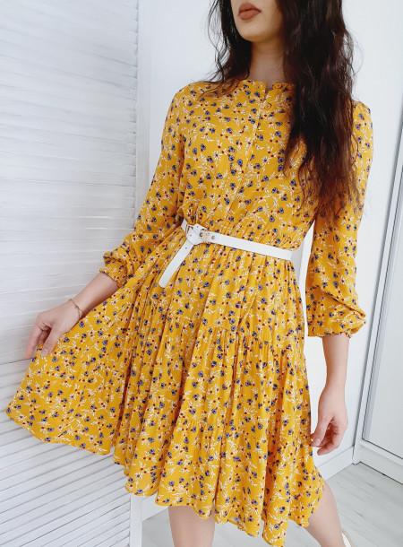 Sukienka 89136 żółty