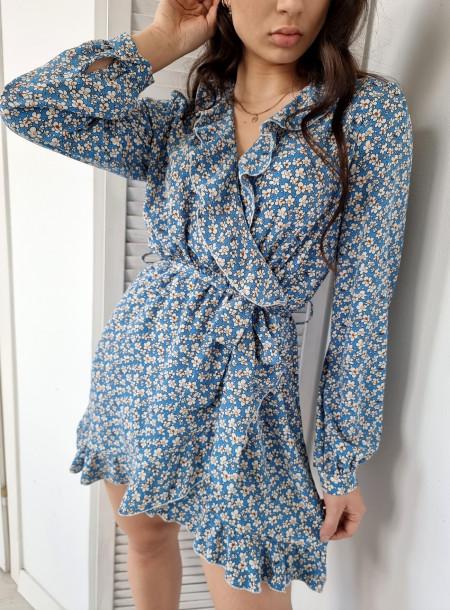 Sukienka 6388 niebieska