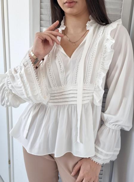 Bluzka 8860 biała