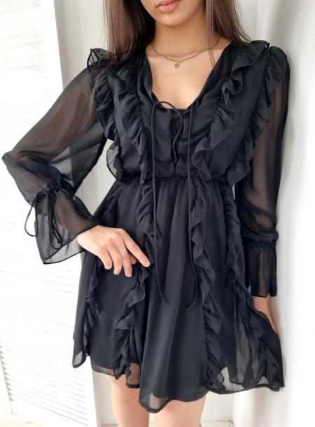 Sukienka 818 czarna