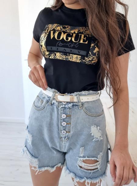 T-shirt 9036 czarny