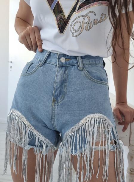 Szorty jeans 8716