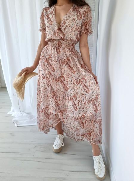 Sukienka 248 biała