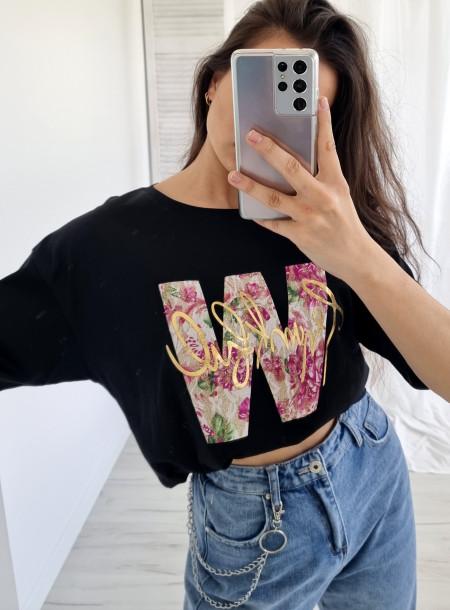 T-shirt 1556 czarny