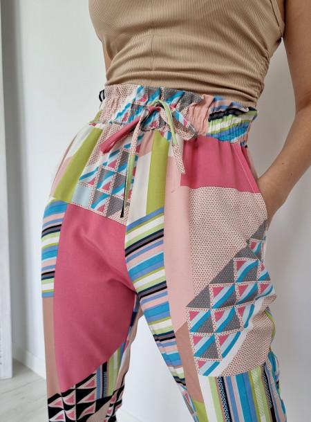 Spodnie haremki 1205...
