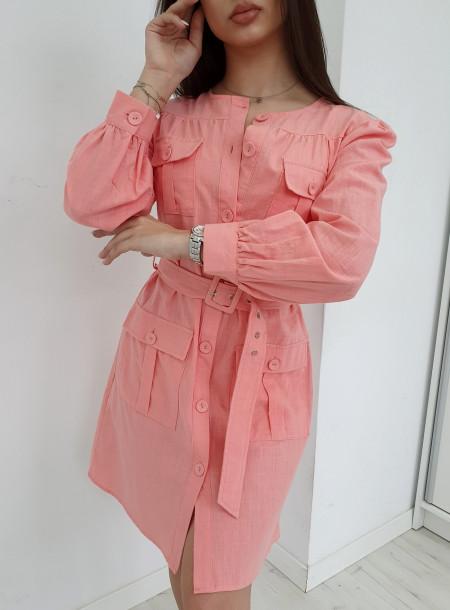 Sukienka 6233 puder