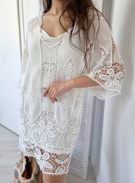 Bluzka / Tunika 287 biała