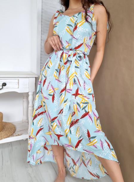 Sukienka liście 91591...