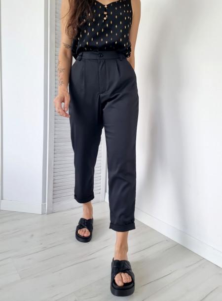 Spodnie 91171 czarny
