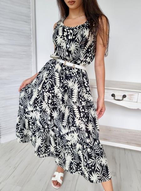 Sukienka midi wiskoza 6975...