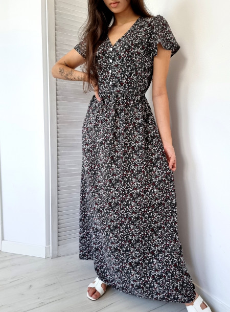 Sukienka maxi kwiaty 91606...