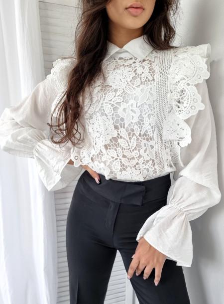 Bluzka gipiura 185 biała