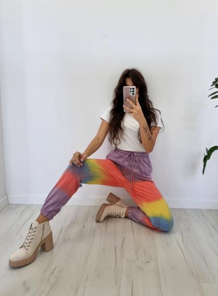 Spodnie dresowe 2032 fioletowe