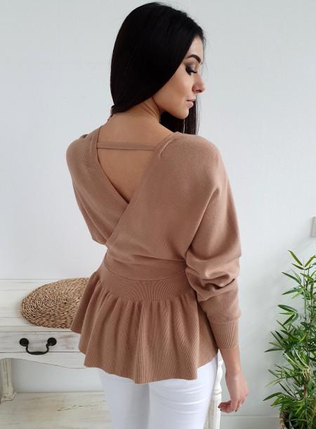Sweter 8237 beż