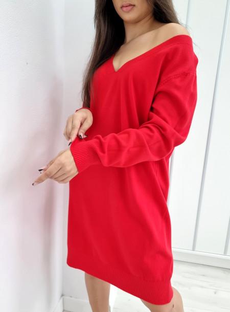 Sukienka dekolt serek 3245...
