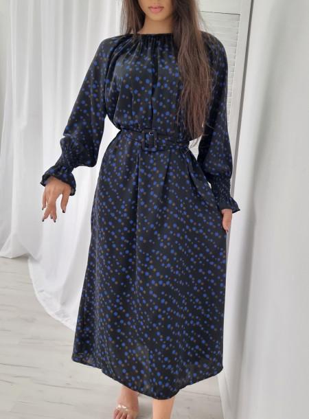 Sukienka maxi 3511 czarna