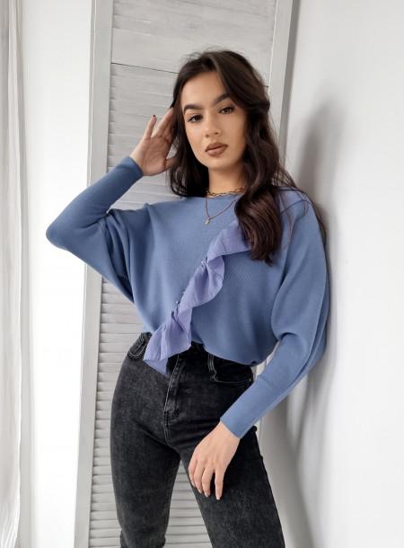 Spodnie zip jeans 5267