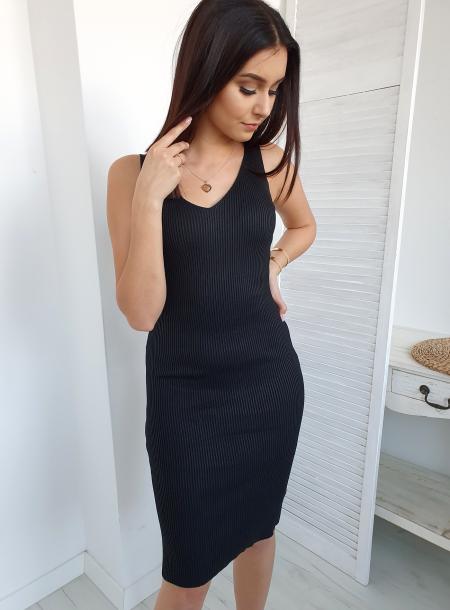 Sukienka T19 czarny