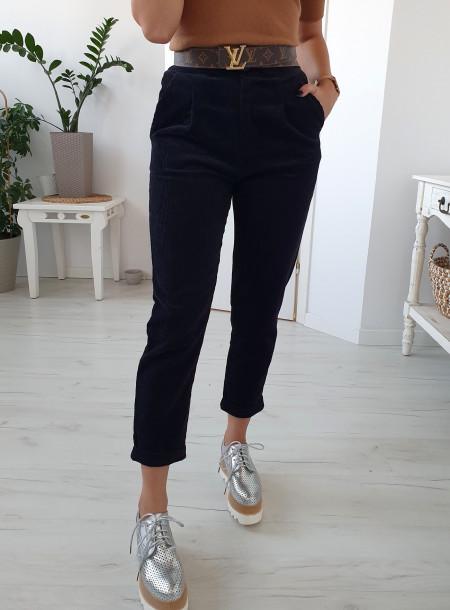 Spodnie P811 czarny