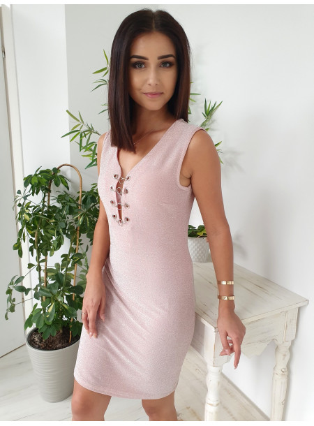 Sukienka 2018-78 puder