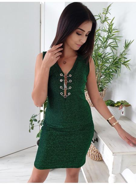 Sukienka 2018-78 zielony