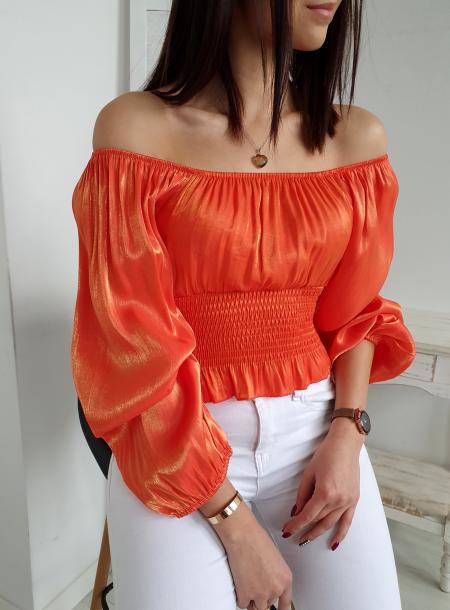 Bluzka 9682 pomarańcz