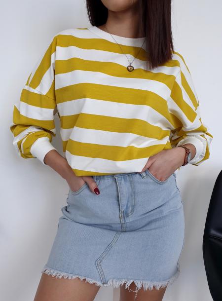 Bluza 13012 żółty