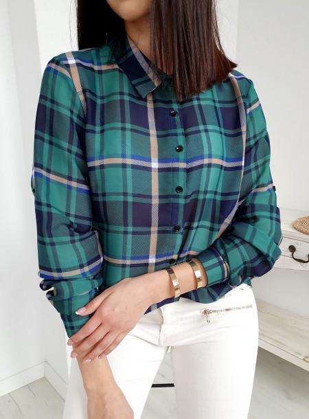 Koszula 076 zielony