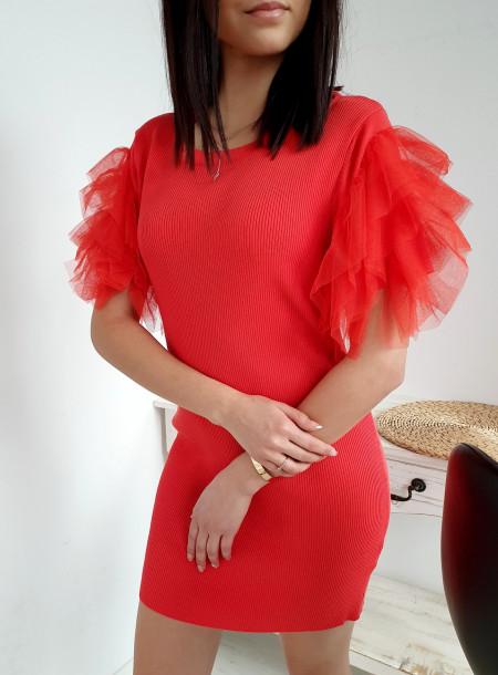 Sukienka 3050 czerwony