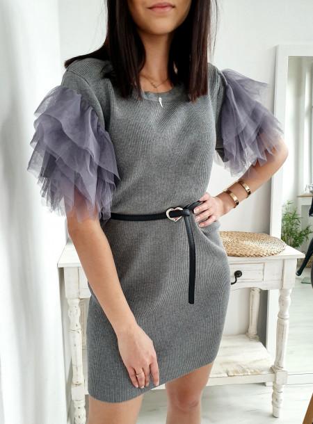 Sukienka 3050 szary