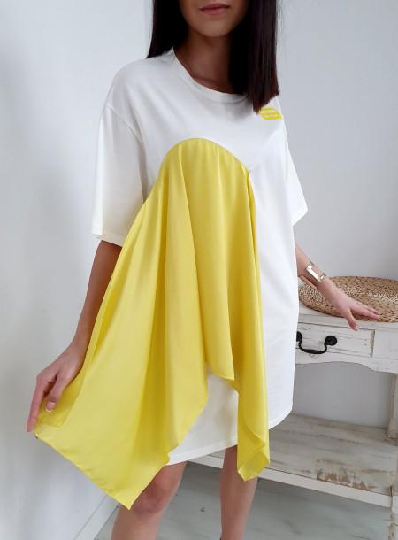 Tunika 9190 żółty