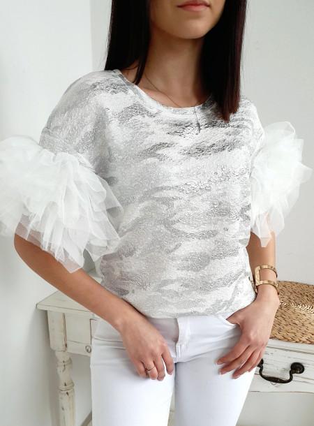 Bluzka 8266 srebrny